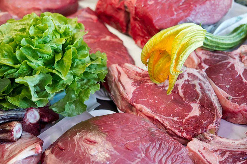 La macelleria vendita diretta di carne chianina toscana