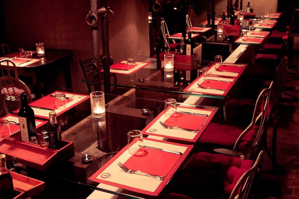 il ristorante la toraia a sinalunga